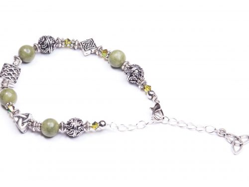 Trinity Bead Bracelet (Handmade In Ireland)
