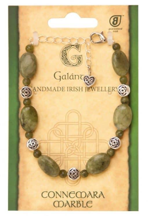 Connemara two tone bracelet (Handmade In Ireland)