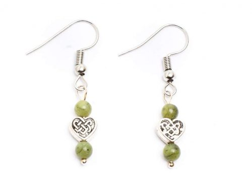 Connemara Heart Earrings