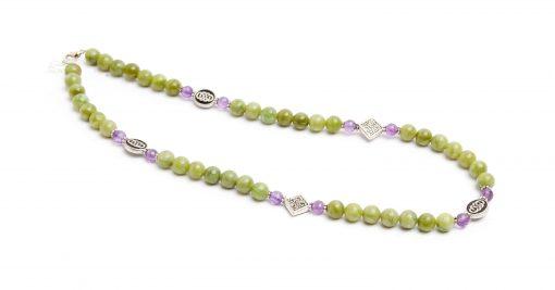Connemara & Amethsyt Necklace