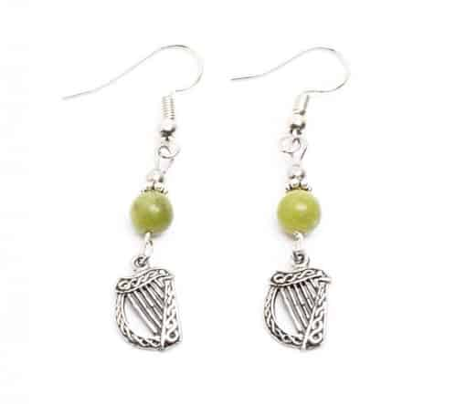 Small Harp Drop Earrings