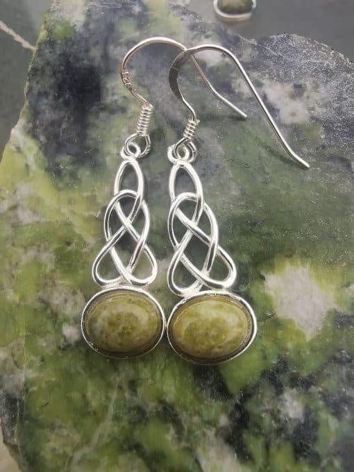 Connemara celtic earrings