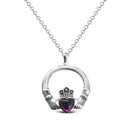 irish claddagh pendant